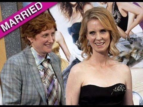 Cynthia Nixon Marries Girlfriend Christine Marinoni