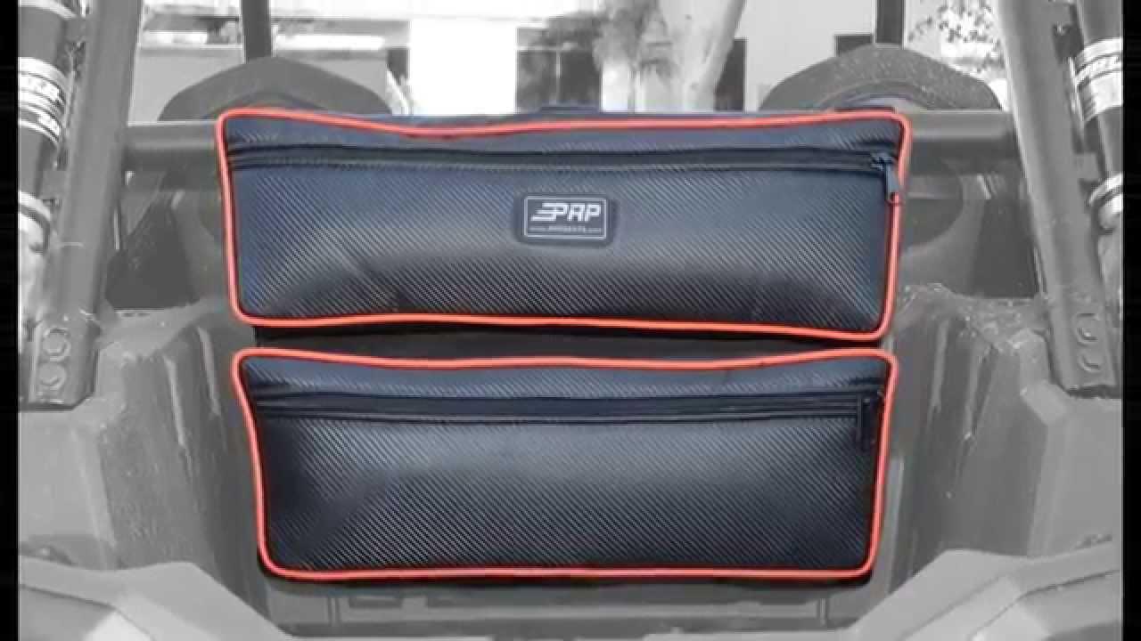2015 Polaris Rzr >> PRP Double Storage Bag for Polaris RZR XP 1000 - YouTube