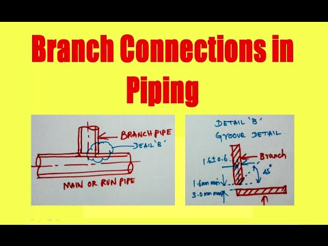 Pipe branch connection method_stub in and stub on