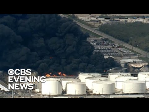 Officials monitoring air quality after Texas chemical plant fire