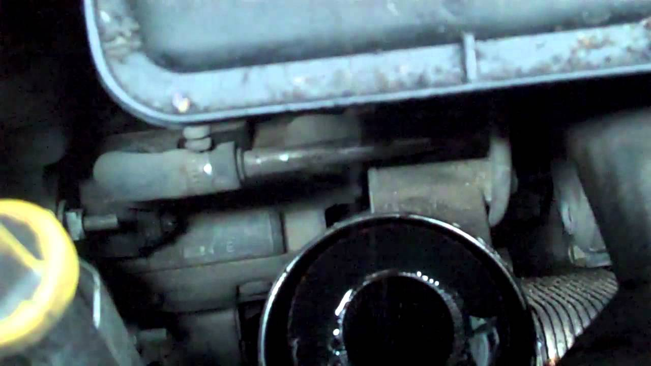 2003 Hyundai Getz Wiring Diagram How To Change A Oil Filter On A Land Rover Freelander Td4