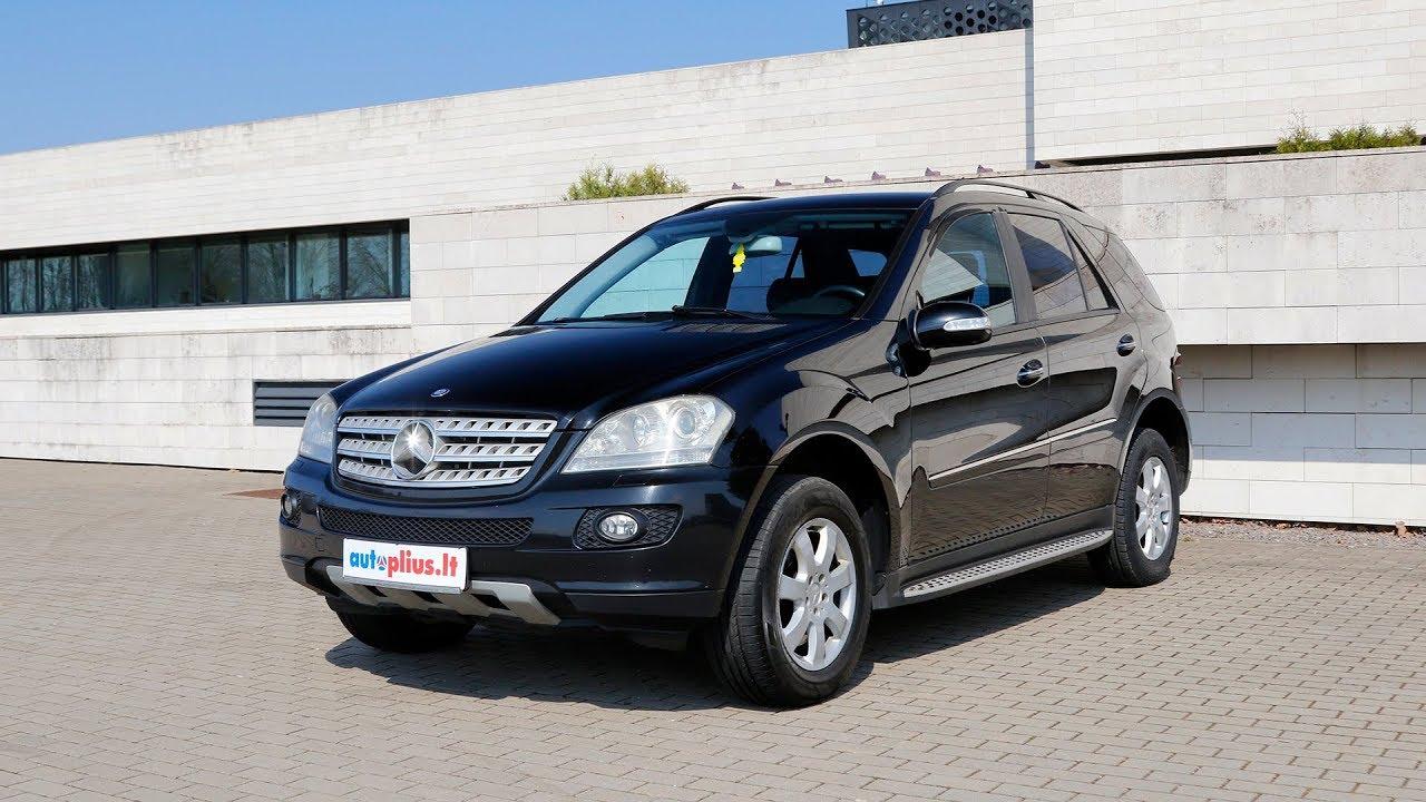 Mercedes-Benz ML klasė (2005-2011) Autoplius.lt automobilių apžvalga