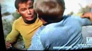 Star Trek Finnegan Captain Kirk Fight Scene Shore Leave
