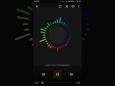 Best music visualizer player for android