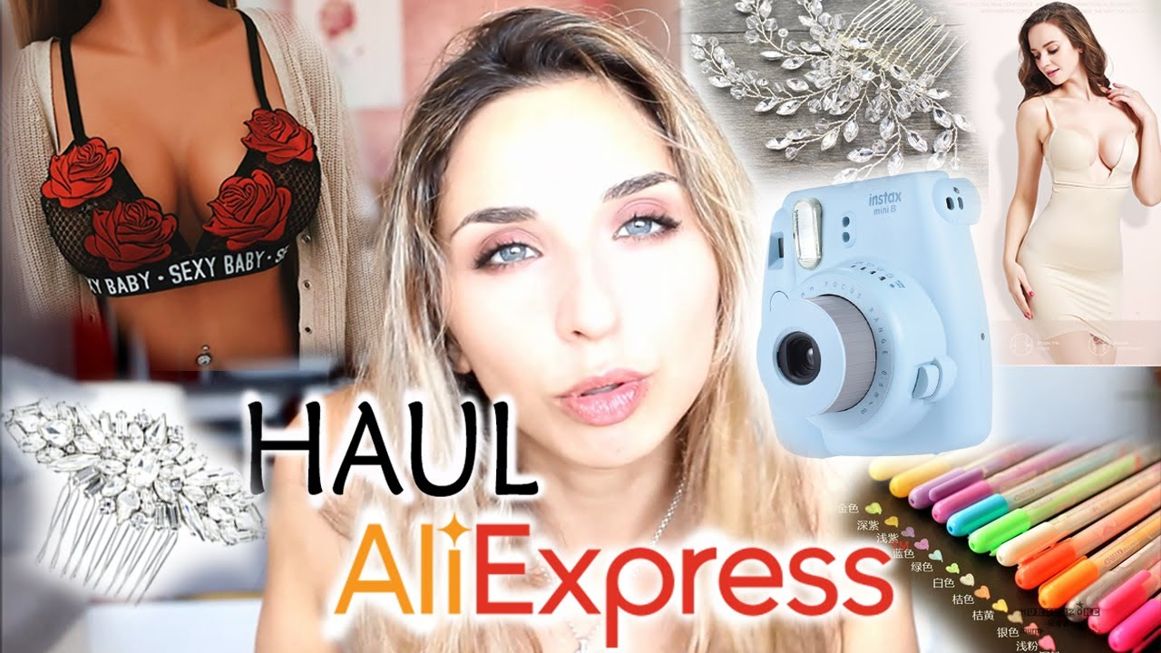 69f1923b4ad HAUL ALIEXPRESS ! ❤ - YouTube