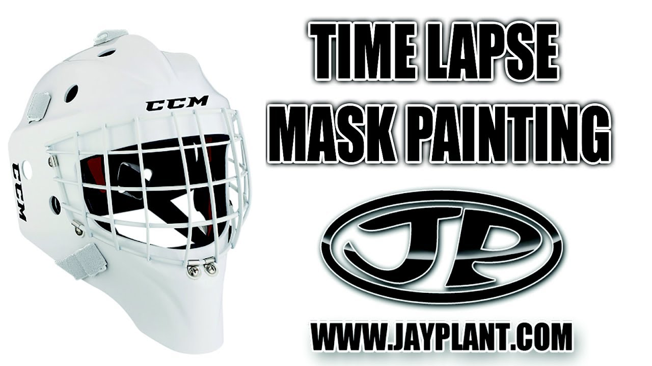 Timelapse painting on goalie mask youtube timelapse painting on goalie mask maxwellsz