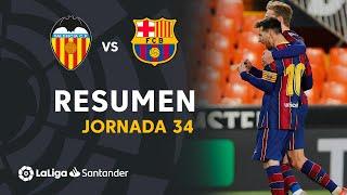 Resumen de Valencia CF vs FC Barcelona (2-3)