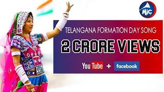 Telangana Formation Day Special Song 2017 | Latest Telugu Folk song By Mangli | MicTv