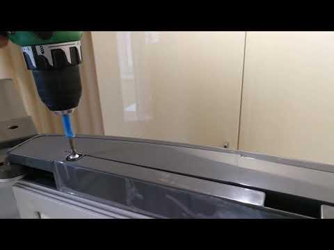 Как перевесить дверь холодильника LG GA B499SMQZ