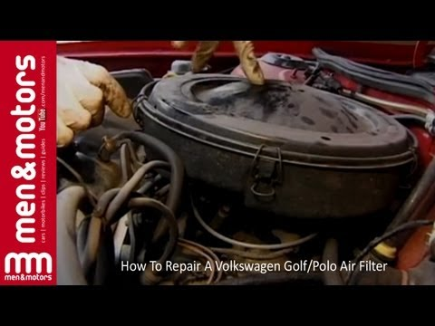 How To Repair A Volkswagen Golf/Polo Air Filter