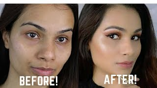 How To Apply Foundation And Concealer For Beginners (Step by Step) | Quick Tips for Beginners