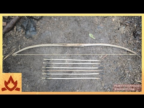 primitive-technology:-bow-and-arrow