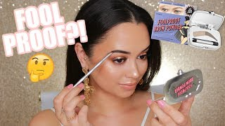 FOOLPROOF BROWS?! | TESTING OUT BENEFIT BROW PRODUCTS!