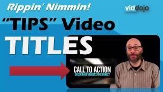 FREE Camtasia Library Asset: Tip Video Title