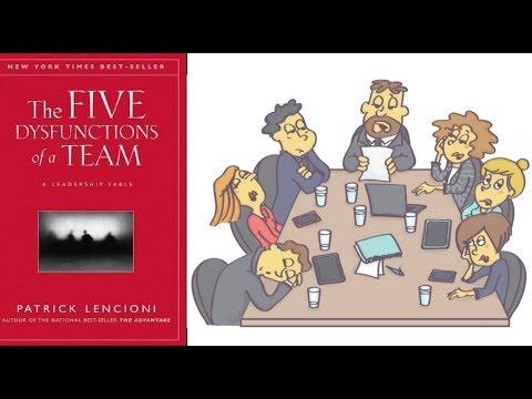 خمس أسباب لفشل أى فريق - ملخص كتاب : العوامل الخمس لخلل العمل الجماعى