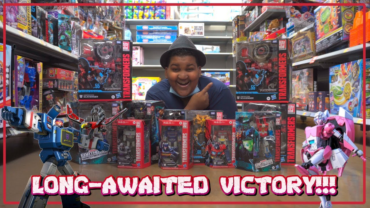 Download LONG-AWAITED NEW RELEASES FINALLY SCORED!   WFC EARTHRISE WAVE 3 SURPRISES!  [Epic Toy Hunting #68]