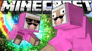 ч.05 - Отряд Боевых Барашков - Подземные приключения Minecraft CRAZY HG
