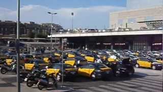 World of taxi. Barcelona