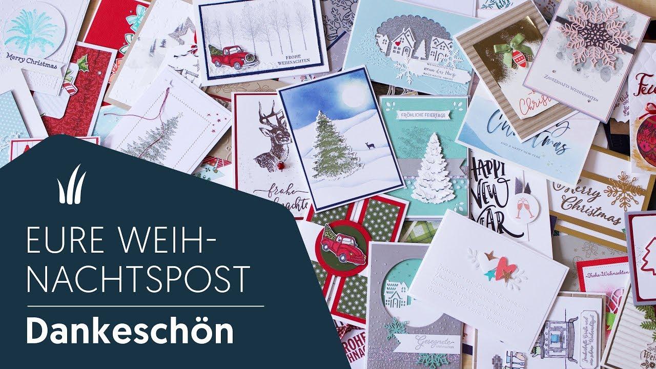 eure weihnachtspost inspirationen f r weihnachtskarten. Black Bedroom Furniture Sets. Home Design Ideas