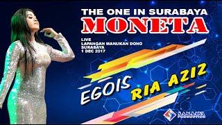 Download Video Egois - Ria Azis - MONETA Live Manukan Surabaya MP3 3GP MP4
