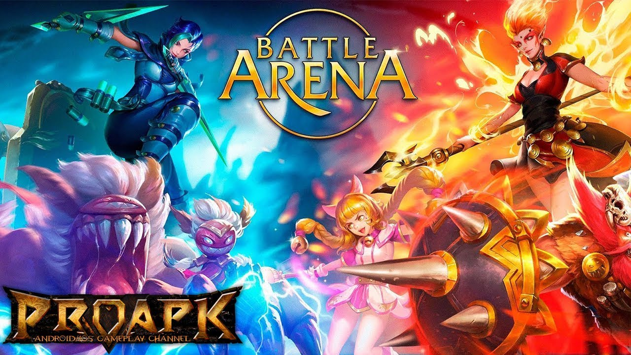 Arena Game Battle Arena Android Gameplay