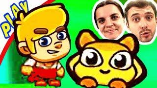 БолтушкА и ПРоХоДиМеЦ в Поисках ПРИНЦЕССЫ 106 Игра для Детей - Джо и Момо