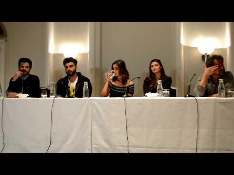Arjun Kapoor in London - Mubarakan Promotions / Press Conference