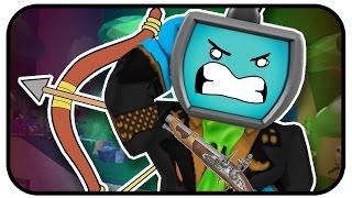 Roblox Zombie Rush - Primary Pack 2 Gameplay - One Shot To Kill Weapons