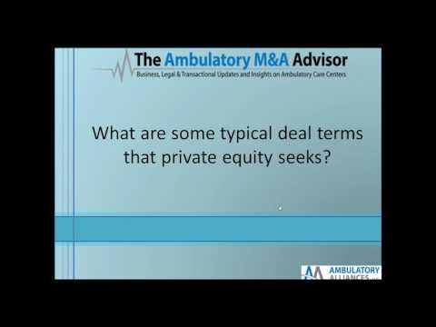 April 27 Webinar: Healthcare Transaction Structuring with Private Equity