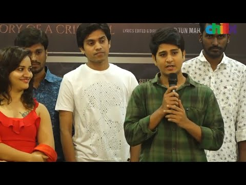 Lovennist's speech at MUSIC launch of 'The Offender – Story of a criminal. '