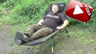 Fullrun Karpfenangeln Tackle im Kleinformat Teil 1: Anaconda Carp Bed Chair II