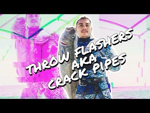 How To Make Spearfishing Throw Flashers (aka Crack Pipes)