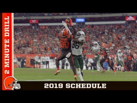 Dan Rivers - The 2019 Cleveland Browns Schedule is Here