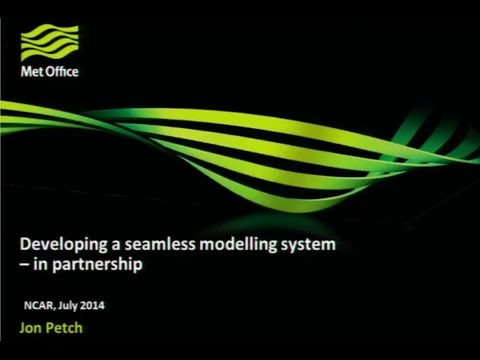 Developing a Seamless Modelling System - in Partnership