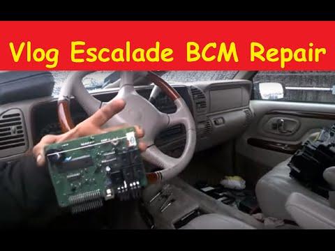 Repair Vlog Escalade BCM Body Control Module Denali Tahoe