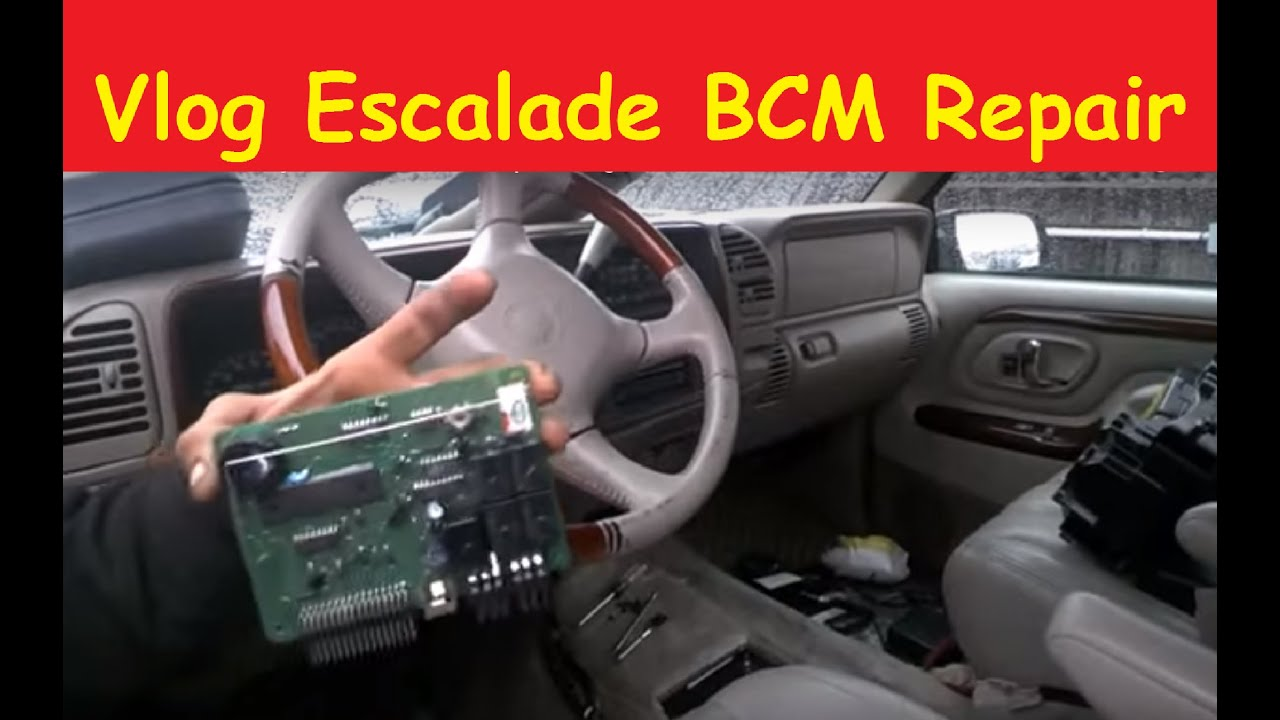 small resolution of repair vlog escalade bcm body control module denali tahoe
