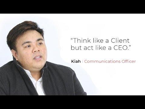 Interview: Kiah - Communications Officer