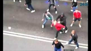 Norrkoping - Hammarby Hooligans Fight 2012