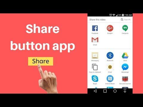 MIT App Inventor Sharing Component