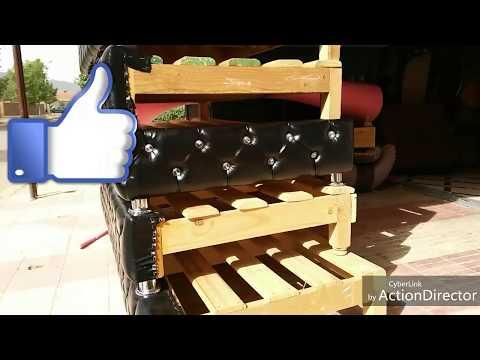 تعلم طريقة تغليف جانب الاريكةبالكابتوني جزء1 Learn the method of packaging the side of the casket
