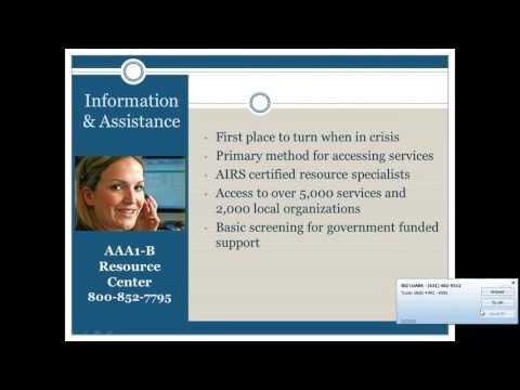 Area Agency on Aging 1-B 101