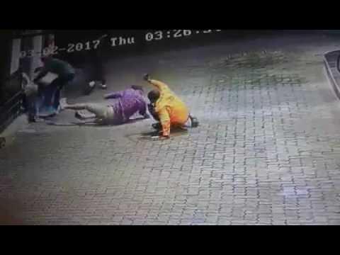CCTV footage captures garage attack in Polokwane