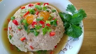 Steamed Salty Egg And Pork Mince 鹹蛋蒸肉
