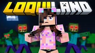 SOLA por PRIMERA VEZ en 1 MUNDO NUEVO de Minecraft! 😱 PASA DE TODO! 🔥 LoquiLand Sandra Cires Play
