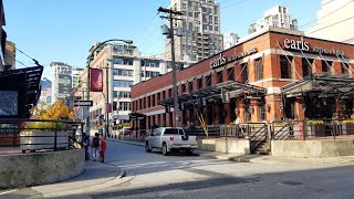 Vancouver STREET END-TO-END WALK: COMOX-HELMCKEN GREENWAY, PT. 2 - HELMCKEN STREET Heading East