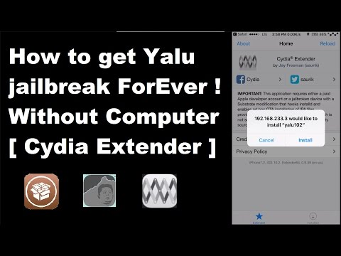 how to jailbreak iphone 4 without computer keep yalu102 certificate forever no resigning app 8289
