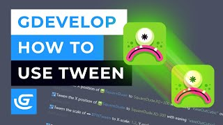 How To Use Tween Behavior In GDevelop Free Game Engine - Tutorial