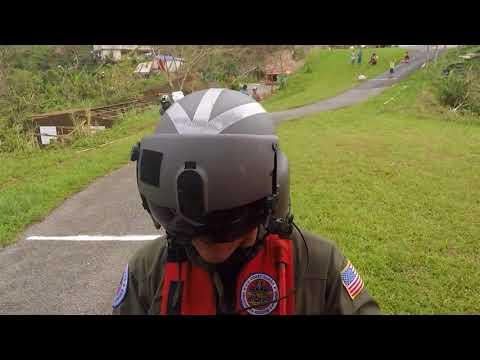 Coast Guard Delivers FEMA Aid to Survivors of Hurricane Maria near Utuado, Puerto Rico
