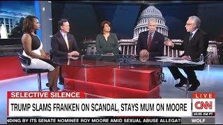 connectYoutube - Height Of Hypocrisy: TRUMP Blasts Franken On Twitter - CNN