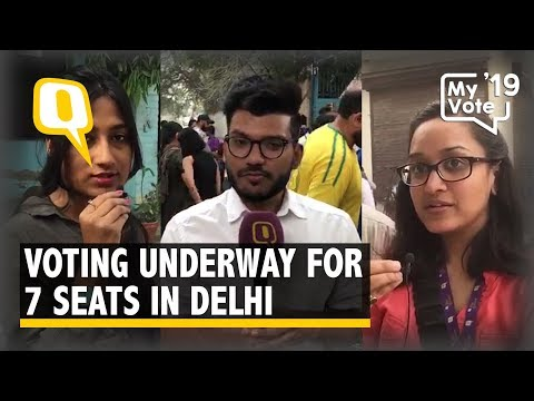 Voting Starts in All Seven Lok Sabha Seats in Delhi | The Quint Mp3